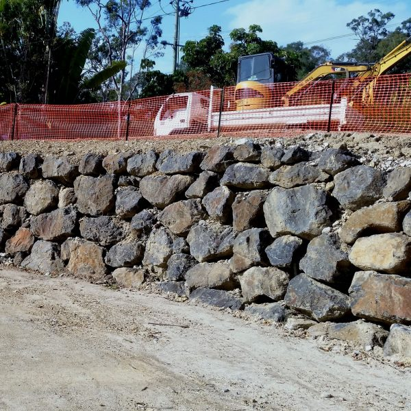 Retaining wall bush rocks for sale and delivery gold coast