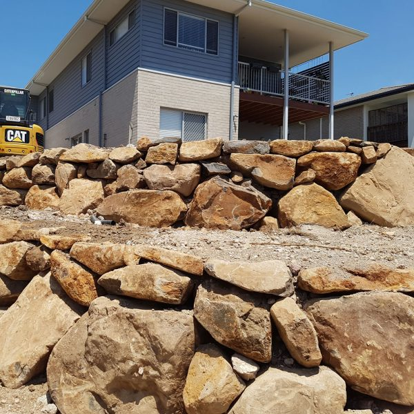 large bush rocks for landscaping delivery gold coast