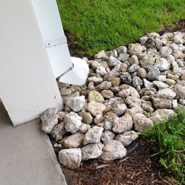 stormwater downpipe drainage rock delivery gold coast